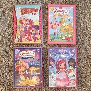 Strawberry Shortcake DVD's